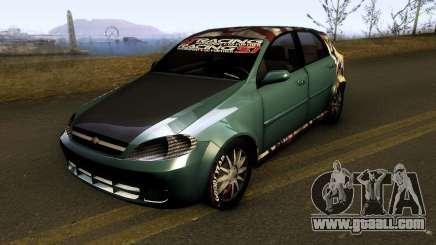 Chevrolet Optra 1.8 2008 for GTA San Andreas