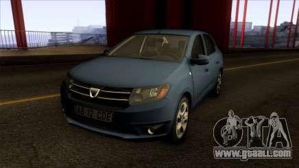 Dacia Logan 2013 for GTA San Andreas