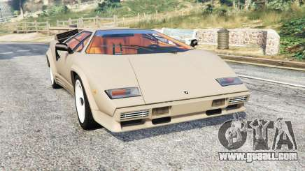 Lamborghini Countach LP5000 1988 v1.3 [replace] for GTA 5