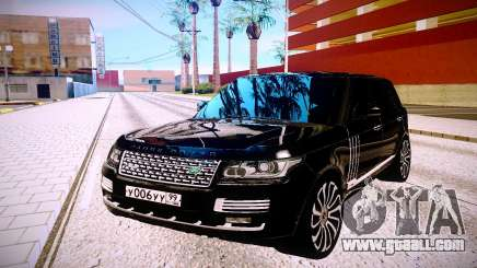 Land Rover Range Rover for GTA San Andreas