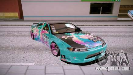 Nissan Silvia SpecR for GTA San Andreas