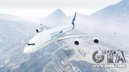 Airbus A380-800 v1.2 [replace] for GTA 5