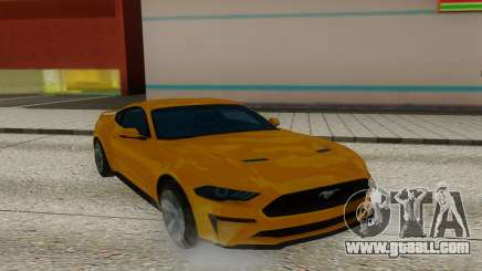 Ford Mustang GT Leaked for GTA San Andreas