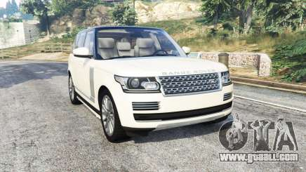 Land Rover Range Rover Vogue 2013 v1.3 [replace] for GTA 5