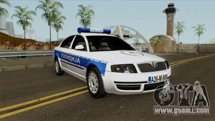 Skoda SuperB Policija Republike Srpske for GTA San Andreas