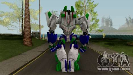 Transformers Acid Storm Skin Mod for GTA San Andreas
