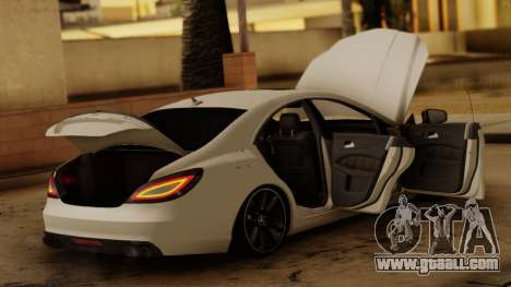 Mercedes-Benz CLS 63 for GTA San Andreas back view