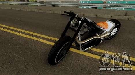 HardTail Sport Bobber 1700CC HD for GTA San Andreas
