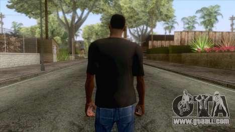 Shantae T-Shirt 1 for GTA San Andreas second screenshot
