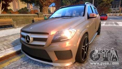 Mercedes Benz GL63 AMG Baku Style for GTA 4