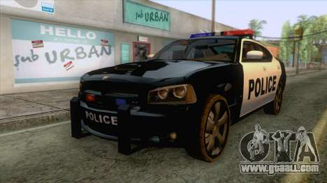 Dodge Charger SRT8 Police for GTA San Andreas