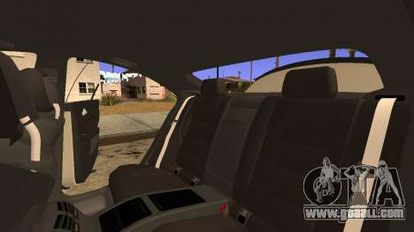 Mercedes-Benz CLS 63 for GTA San Andreas upper view
