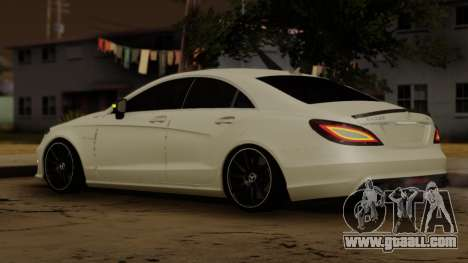 Mercedes-Benz CLS 63 for GTA San Andreas back left view