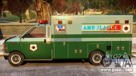 Ambulance Modification for GTA 4