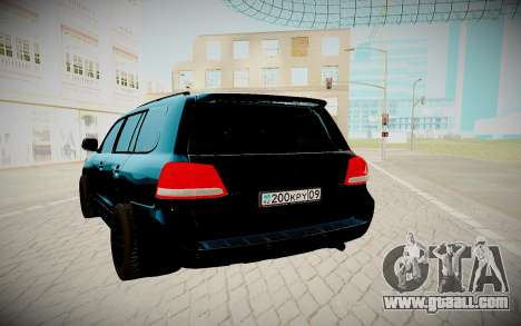 Toyota Land Cruiser 200 2008 for GTA San Andreas