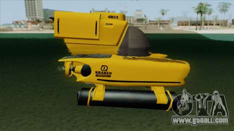 GTA V Kraken for GTA San Andreas