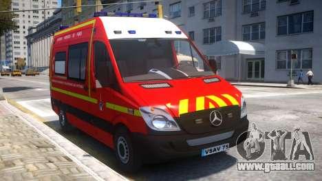 Mercedes Sprinter VSAV for GTA 4