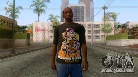 Shantae T-Shirt 1 for GTA San Andreas