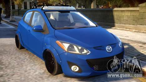 Mazda 2 DRIFT Car for GTA 4