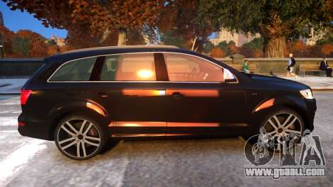 Audi Q7 V12 TDI 2009 Baku Style (fix parameters) for GTA 4 back view