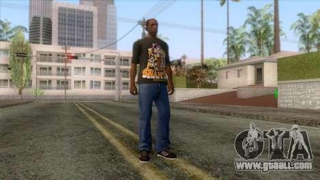 Shantae T-Shirt 1 for GTA San Andreas third screenshot