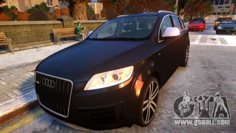 Audi Q7 V12 TDI 2009 Baku Style (fix parameters) for GTA 4