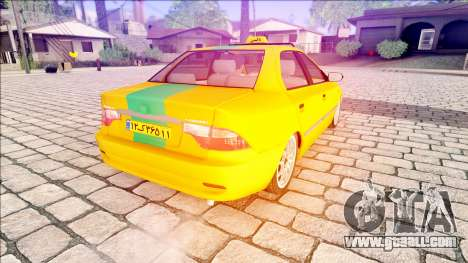 IKCO Samand Taxi for GTA San Andreas