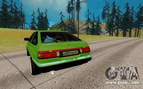 Toyota Sprinter Trueno АЕ85 for GTA San Andreas