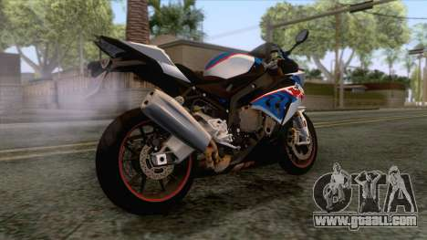 BMW S1000RR 2018 for GTA San Andreas