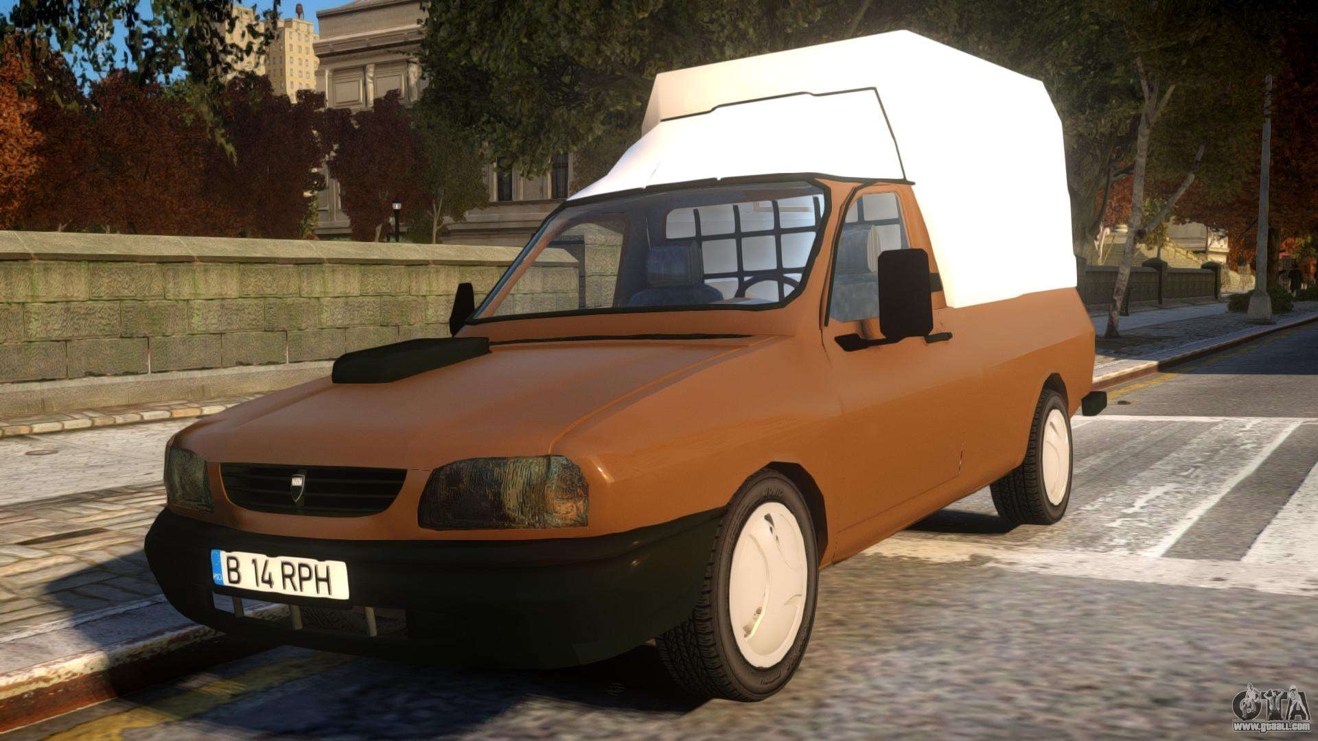dacia pickup cab for gta 4. Black Bedroom Furniture Sets. Home Design Ideas