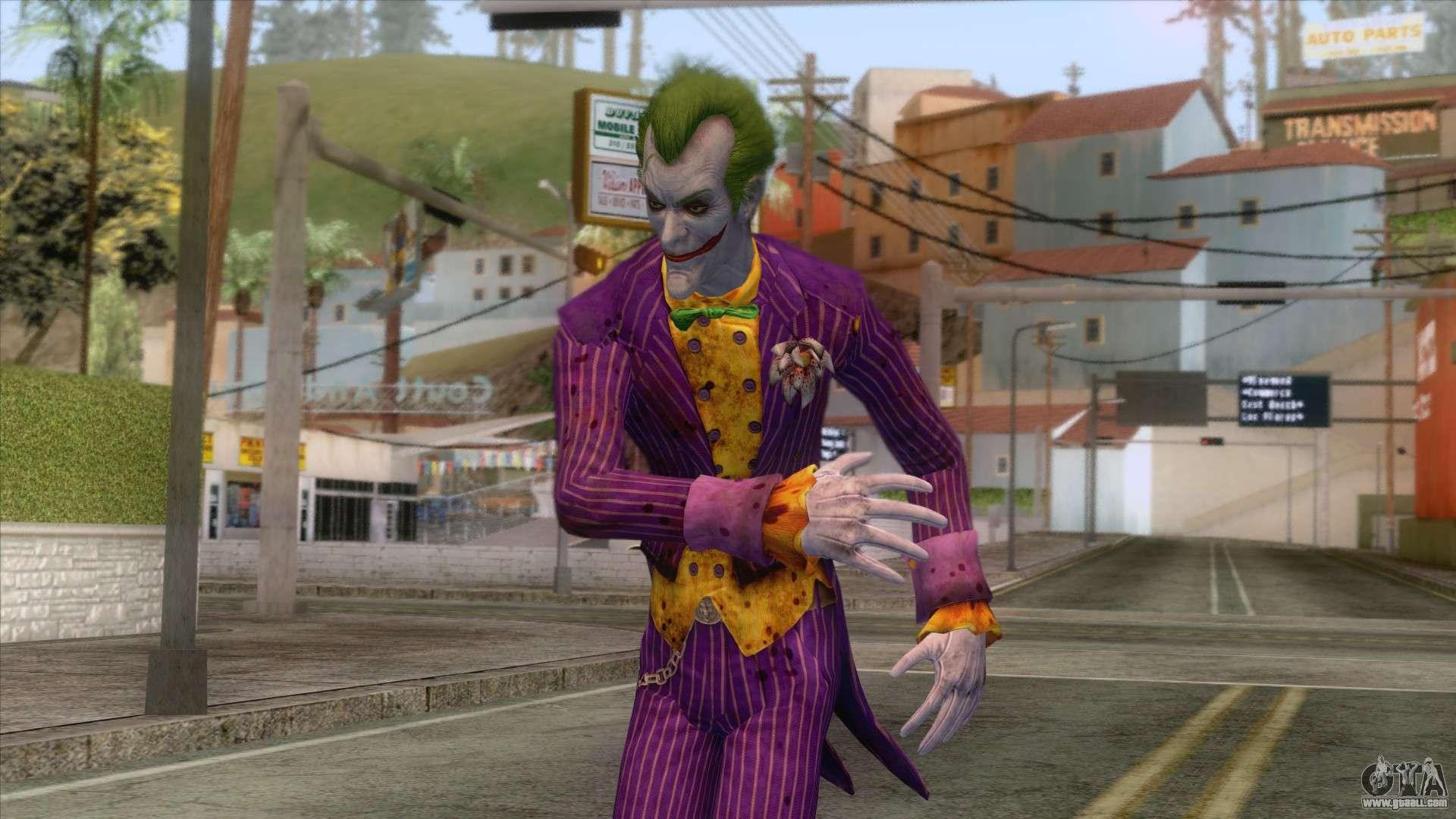 The Joker for GTA San Andreas