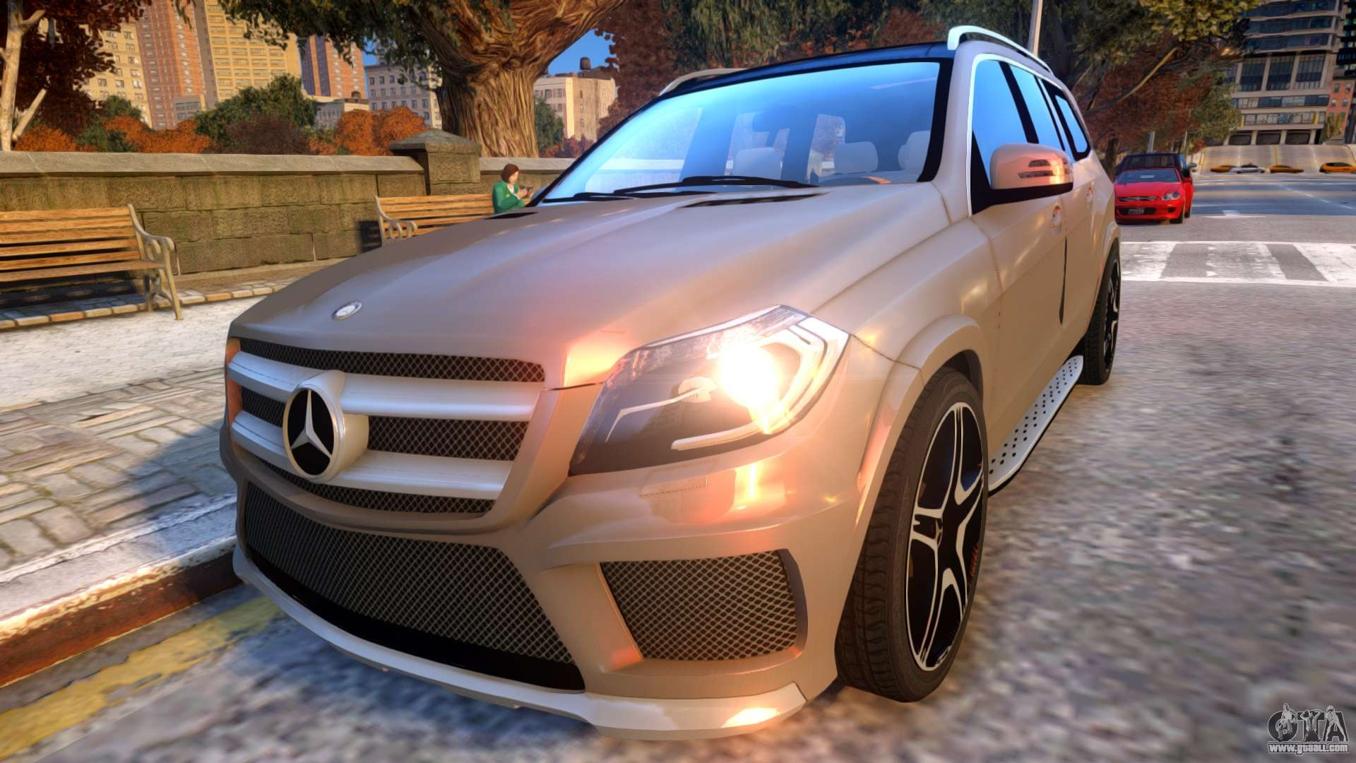 Mercedes benz gl63 amg baku style for gta 4 for Mercedes benz styles