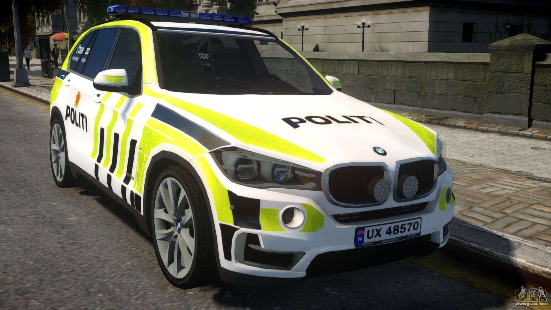 Bmw X5 Norwegian Police For Gta 4