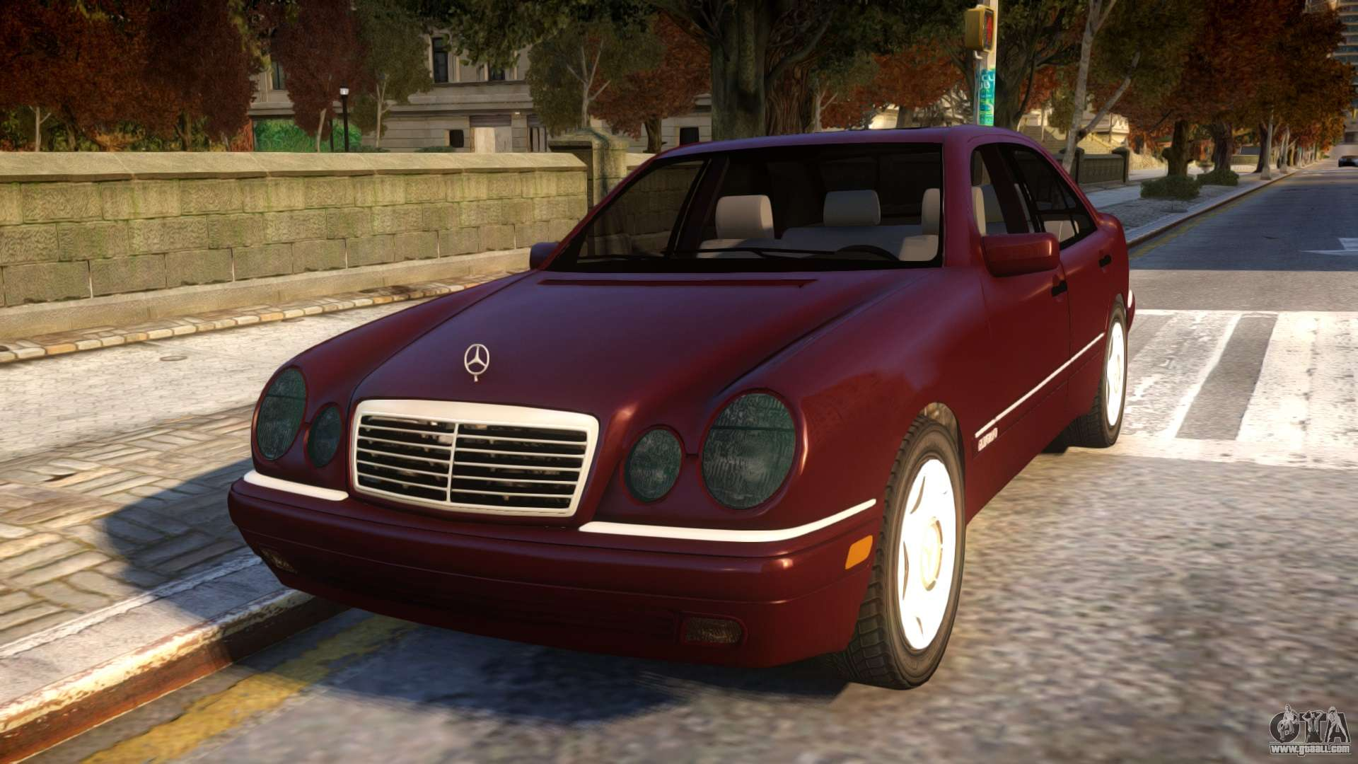 Mercedes Benz E420 For Gta 4