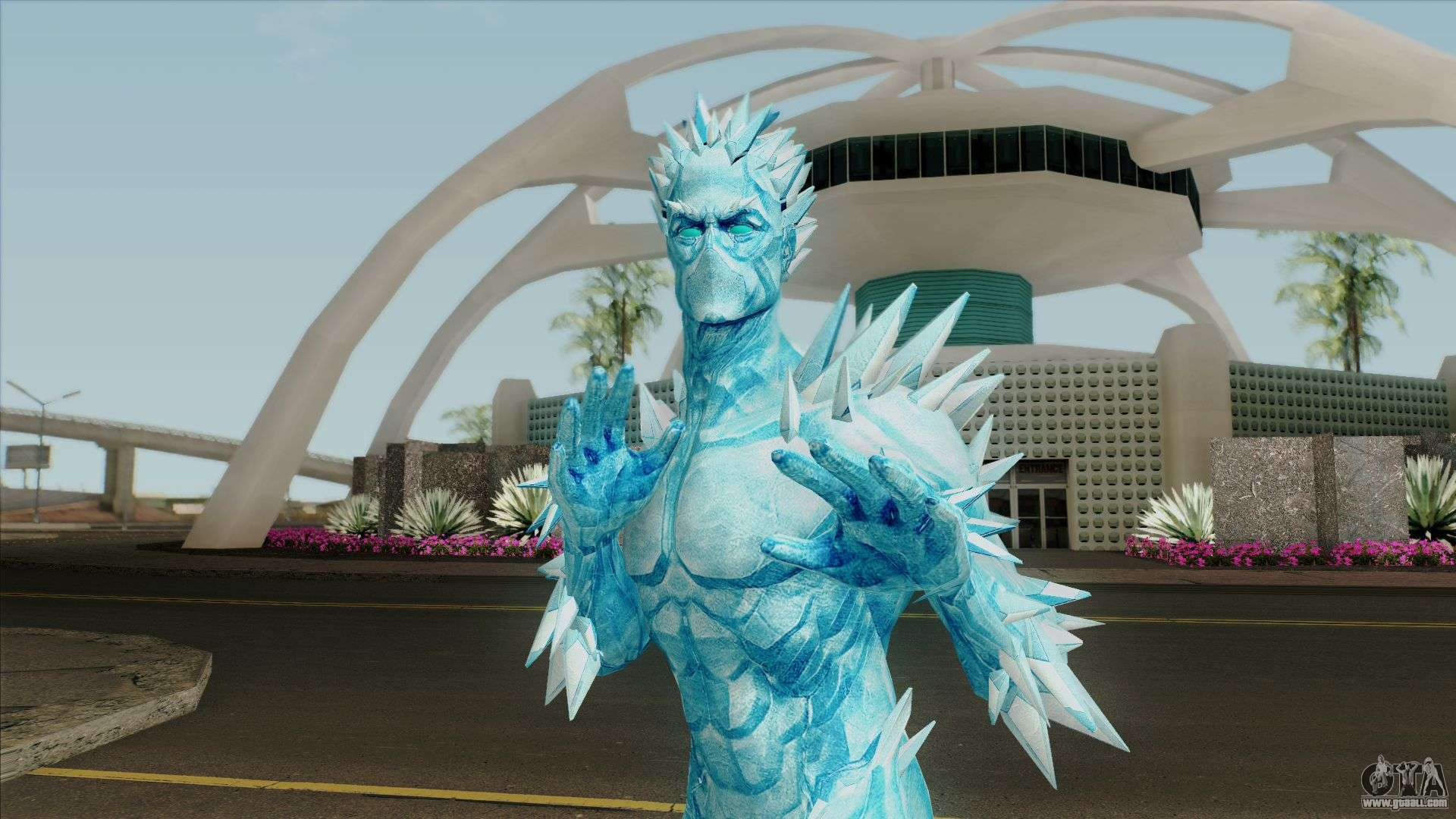 Marvel Heroes - Iceman (AOA) for GTA San Andreas