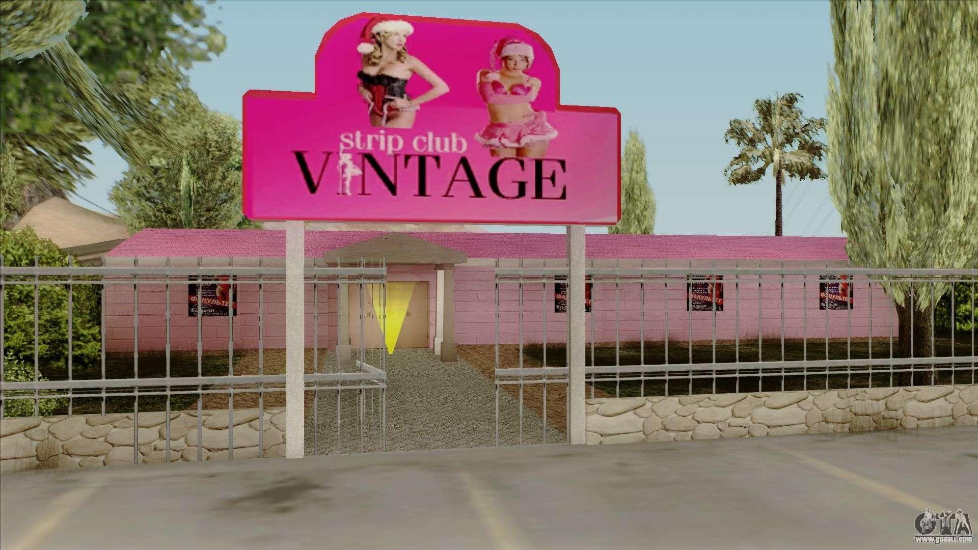 Club location strip