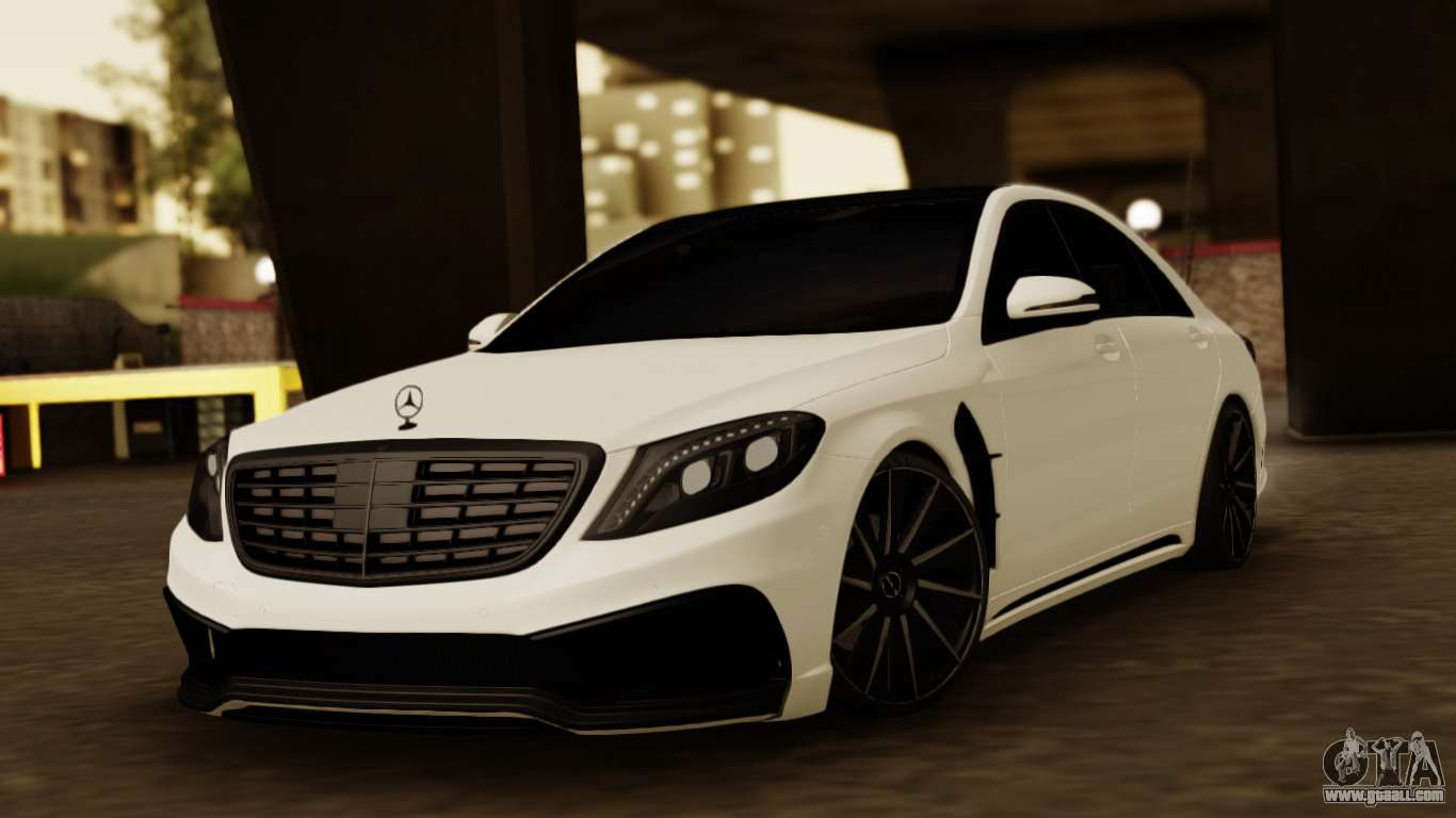 Mercedes Benz S63 Wald Black Bison For Gta San Andreas