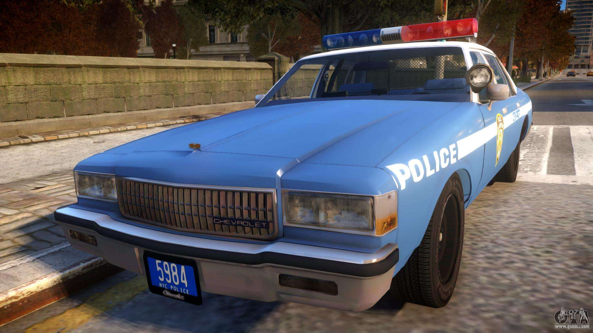 1985 chevrolet caprice nypd police for gta 4 publicscrutiny Choice Image
