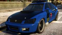 All New Karin Sultan Indonesia Police for GTA 4