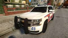 Chevy Tahoe police for GTA 4