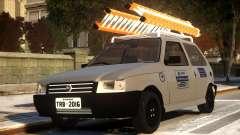 Fiat Uno com Escada for GTA 4
