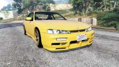 Nissan 200SX (S14a) 1996 v1.1 [replace] for GTA 5