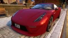 Grotti Carbonizzare for GTA 4