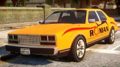 Rom Taxi for GTA 4