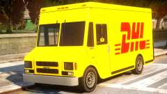 DHL TNT Skins for Boxville for GTA 4