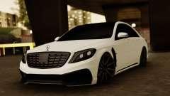 Mercedes-Benz S63 WALD Black Bison