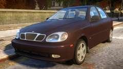 Daewoo Lanos Sedan SX US 1999 for GTA 4