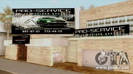Pro Service for GTA San Andreas