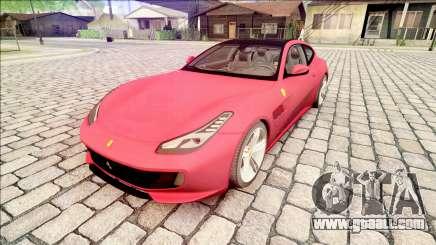 Ferrari GTC4 Lusso 70th Anniversary 2016 IVF for GTA San Andreas