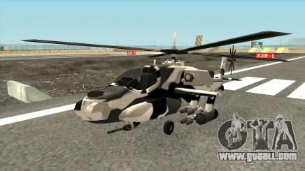 Camouflage pattern for the Hunter for GTA San Andreas